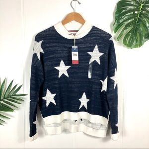TOMMY Hilfiger American Star Knit Sweater Small